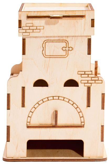 """Заготовка деревянная """"Чайный домик. Печь"""" (90х85х200 мм) — фото, картинка"""