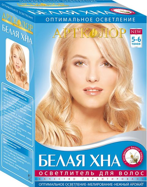 """Осветлитель для волос """"Белая хна"""" (60 мл) — фото, картинка"""