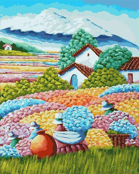"""Картина по номерам """"Эквадор"""" (400х500 мм) — фото, картинка"""