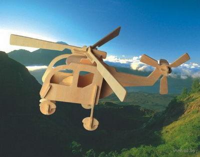 """Сборная деревянная модель """"Вертолет"""" (большой) — фото, картинка"""