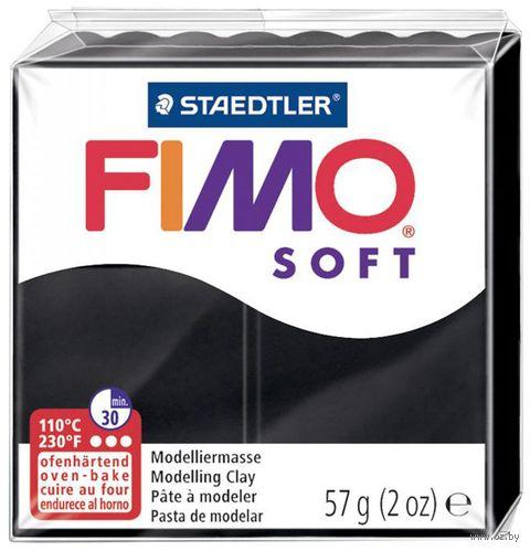 """Глина полимерная """"FIMO Soft"""" (черный; 56 г)"""