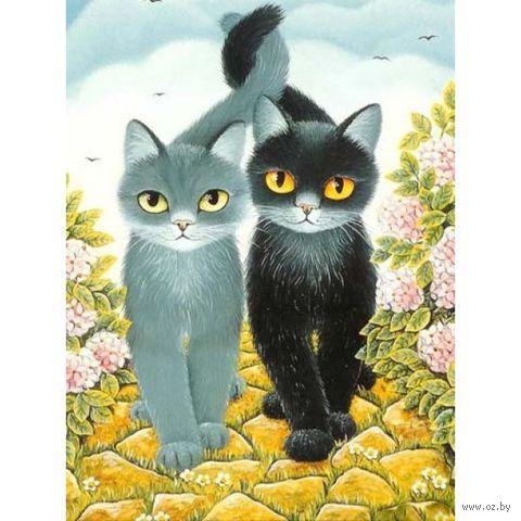 """Алмазная вышивка-мозаика """"Коты"""""""