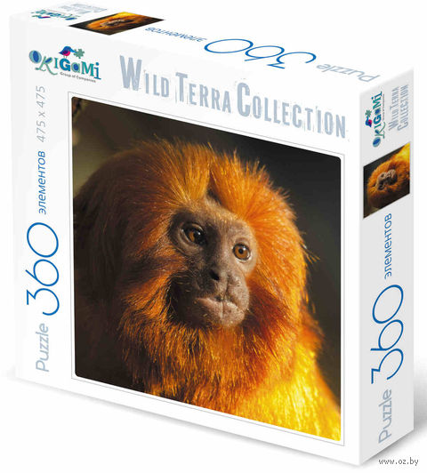 "Пазл ""Wild Terra Collection. Игрунка"" (360 элементов) — фото, картинка"