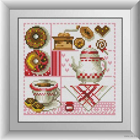 "Алмазная вышивка-мозаика ""Кухня"" (190х190 мм) — фото, картинка"