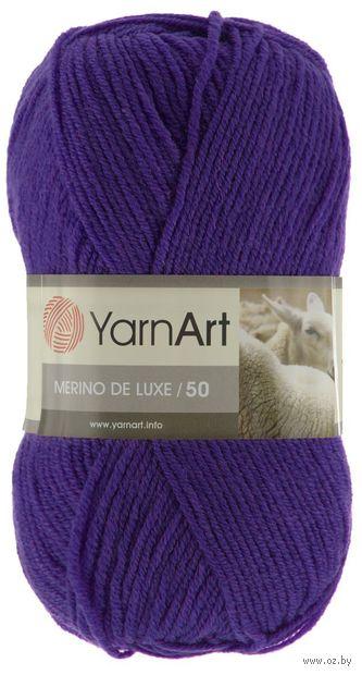 """Пряжа """"YarnArt. Merino de Luxe №556"""" (100 г; 280 м; фиолетовый) — фото, картинка"""