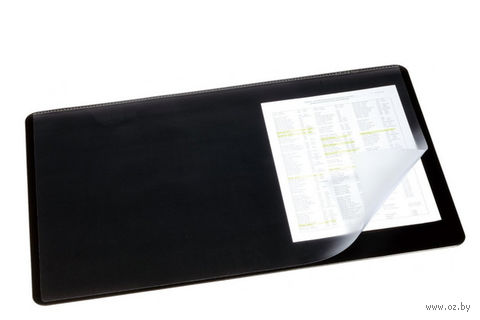 Бювар с поднимающимся верхом (черный; 50 х 65 см)