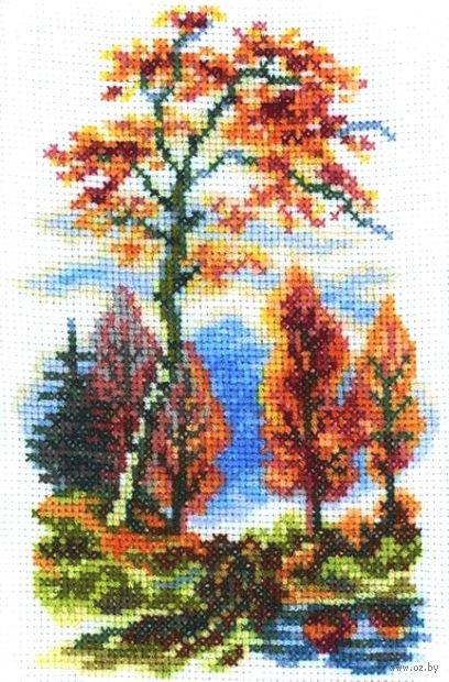 """Вышивка крестом """"Осень"""""""