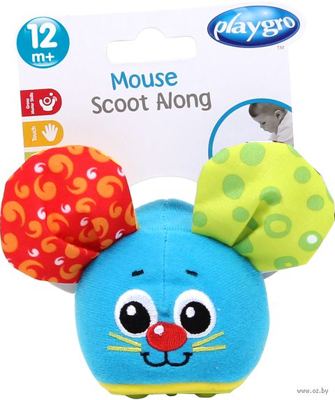 """Мягкая инерционная игрушка """"Мышка"""" — фото, картинка"""