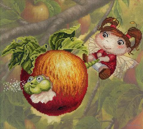 "Набор для вышивания ""Яблочная фея"""