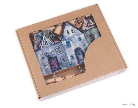 Вешалка для ключей деревянная (190х120 мм) — фото, картинка