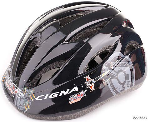 """Шлем велосипедный детский """"WT-021"""" (чёрный) — фото, картинка"""
