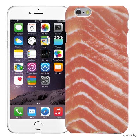 "Чехол для iPhone 6/6S ""Красная рыба"" (розовый) — фото, картинка"