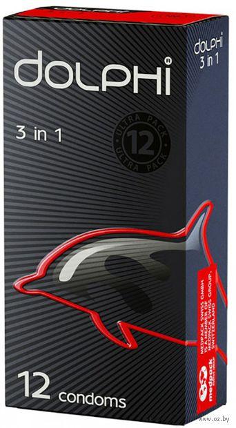 "Презервативы ""Dolphi 3в1"" (12 шт.) — фото, картинка"
