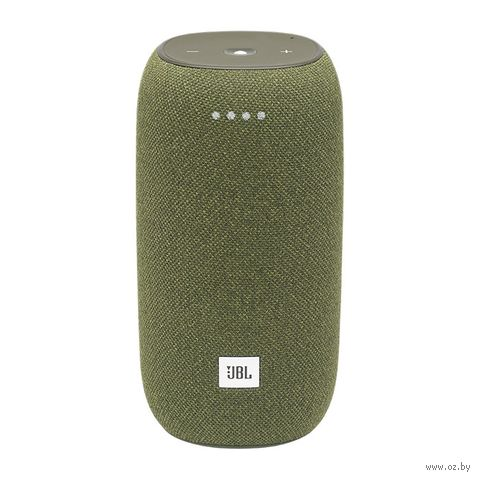 Колонка беспроводная JBL Link Portable Yandex (зеленая) — фото, картинка