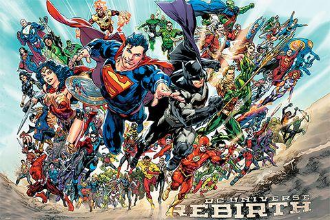 "Постер ""Justice League. Rebirth"" — фото, картинка"