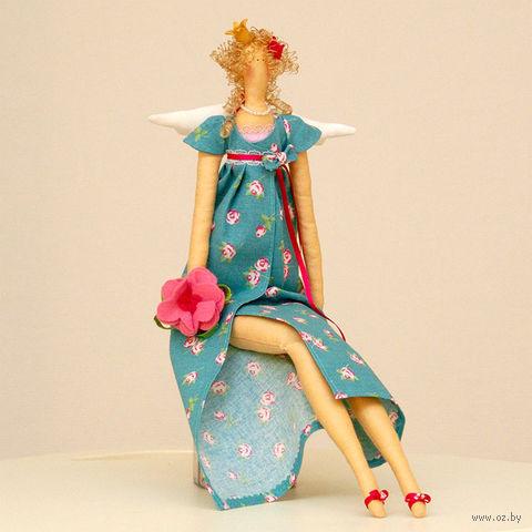 """Кукла ручной работы """"Принцесса с цветком"""""""