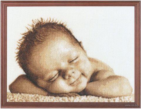 "Вышивка крестом ""Мамина радость"" (210х330 мм) — фото, картинка"