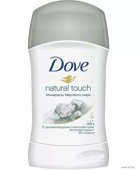 """Дезодорант DOVE """"Прикосновение природы. Минералы Мертвого моря"""" (стик; 40 мл)"""