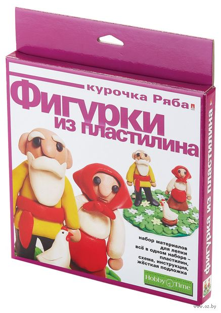 "Набор для лепки из пластилина ""Курочка Ряба"" — фото, картинка"