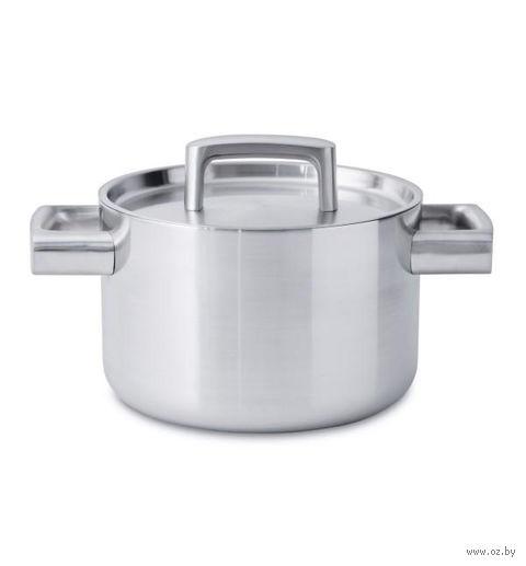 Кастрюля металлическая с крышкой (4,3 л) — фото, картинка