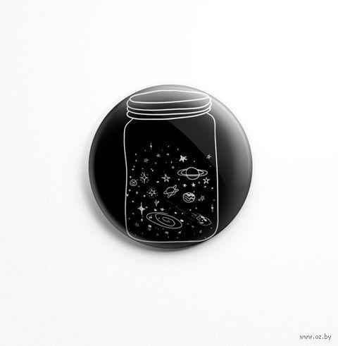 "Значок ""Космос"" (арт. 422) — фото, картинка"