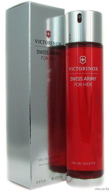 "Туалетная вода для женщин Victorinox ""Swiss Army For Her"" (100 мл) — фото, картинка"
