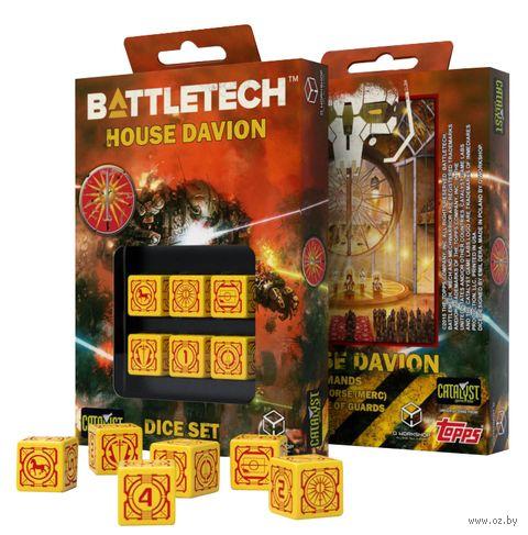 "Набор кубиков D6 ""Battletech. House Davion"" (6 шт.) — фото, картинка"