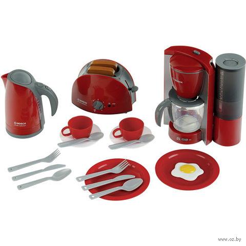 """Игровой набор """"Кухонная техника Bosch и посуда"""""""
