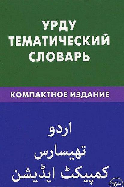 Урду. Тематический словарь. Юлия Цунаева