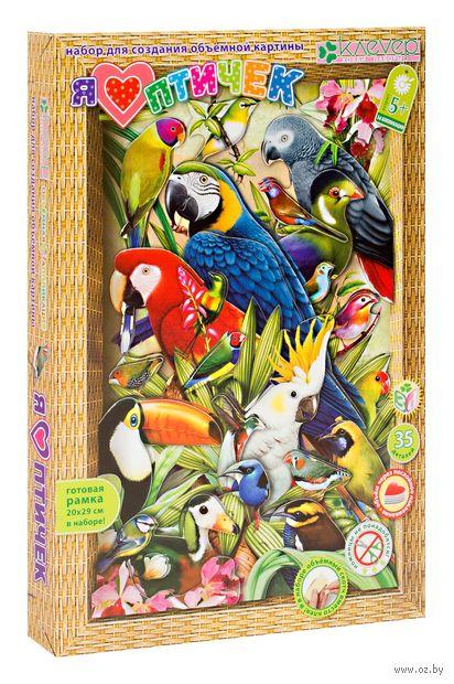 """Объемная аппликация """"Я люблю птичек"""" — фото, картинка"""