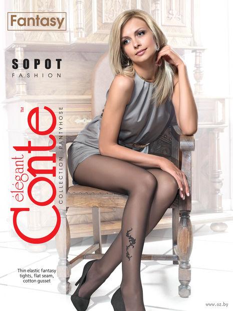"""Колготки женские фантазийные """"Conte. Sopot"""""""