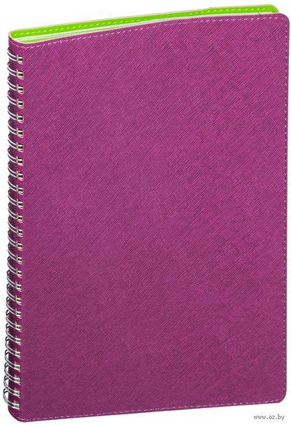 """Еженедельник недатированный """"Tintoretto"""" (B5; фиолетовый) — фото, картинка"""