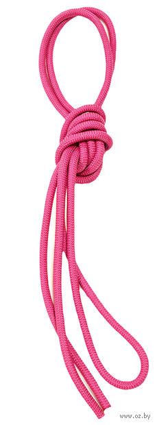 Скакалка для художественной гимнастики Pro 10103 (розовая) — фото, картинка