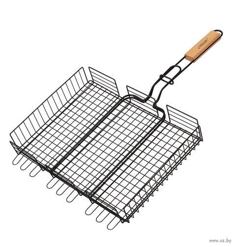 Решетка-гриль металлическая (40х30 см; арт. Mr-1001) — фото, картинка