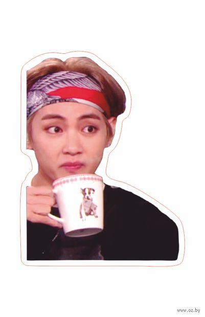 """Наклейка """"BTS. Taehyung Not"""" (арт. 13) — фото, картинка"""