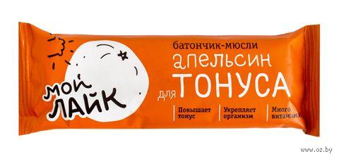 "Батончик ""Для тонуса. Апельсин"" (25 г) — фото, картинка"