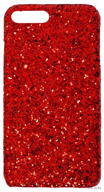 Чехол Biggo для iPhone 7 plus (красный) — фото, картинка