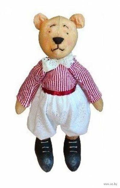 """Набор для шитья из ткани """"Кукла. Мишка Папа"""""""