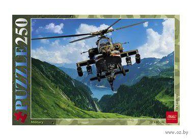"""Пазл """"Вертолет в горах"""" (250 элементов)"""