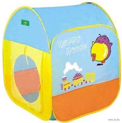 """Детская игровая палатка """"Веселый домик"""""""