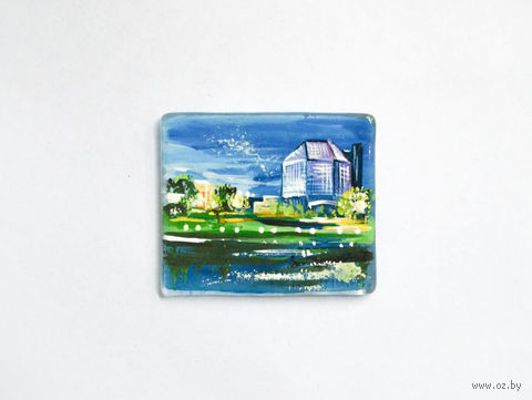 "Магнит сувенирный ""Библиотека"" (арт. МС-5) — фото, картинка"