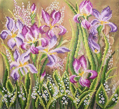 "Алмазная вышивка-мозаика ""Весенний аромат"" (345х350 мм) — фото, картинка"