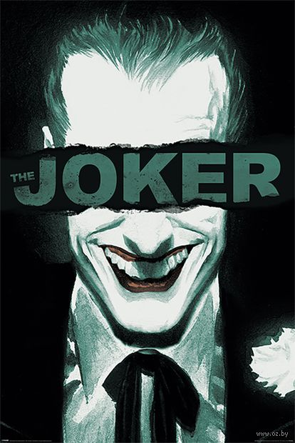 "Постер ""The Joker. Put on a Happy Face"" — фото, картинка"