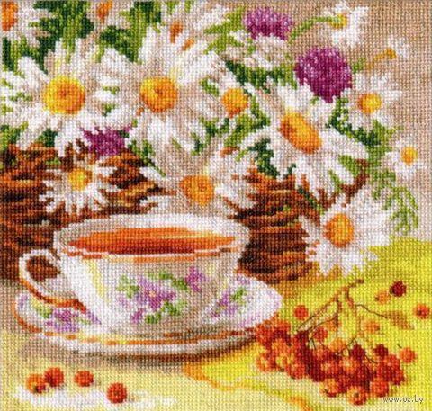 """Вышивка крестом """"Полуденный чай"""""""