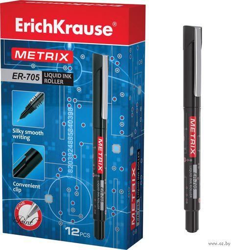 """Ручка-роллер """"METRIX ER-705"""" (черные чернила)"""