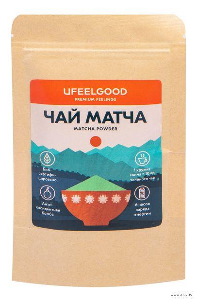 """Чай зеленый """"Ufeelgood. Матча"""" (100 г) — фото, картинка"""