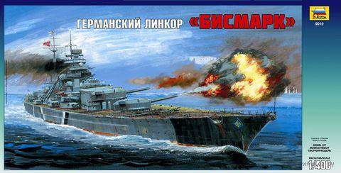 "Германский линкор ""Бисмарк"" (масштаб: 1/400)"
