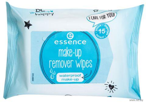 Влажные салфетки для снятия водостойкого макияжа (15 шт.) — фото, картинка
