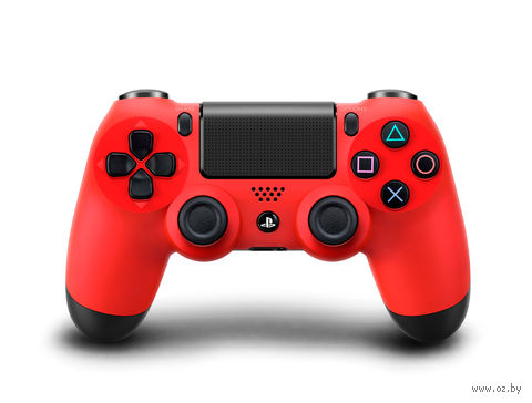 Контроллер DUALSHOCK 4 красный (PS4)