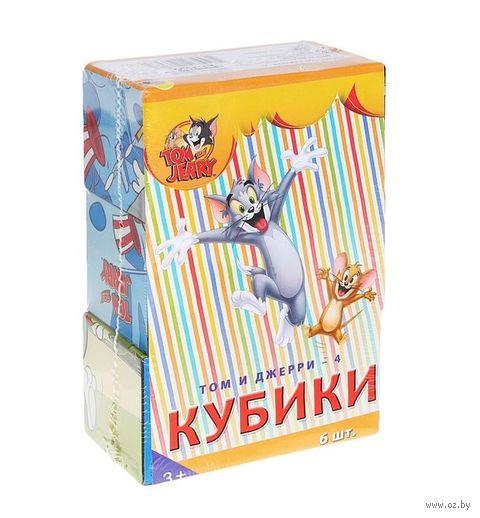 """Кубики """"Том и Джерри"""" (6 шт) — фото, картинка"""